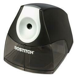 Bostitch Products - Stanley Bostitch - Compact Desktop Electric Pencil Sharpener, Black - Sold As 1 Each - The Perfect Choice When Space Is At A Premium. - Hhctm Cutter Technology Produces A P...