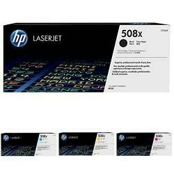 HP 508X CF360X Toner Cartridge Works With HP Color Laserjet Enterprise M553 Series, M577 Series Black High Yield