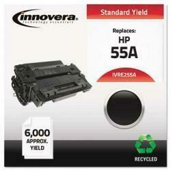 Innovera E255A Remanufactured C 55A Toner Cartridge Black