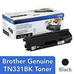Brother Genuine Standard Yield Toner Cartridge, TN331BK, Replacement Black Toner, Page Yield Up To 2,500 Pages, Amazon Dash Replenishment Cartridge, TN331