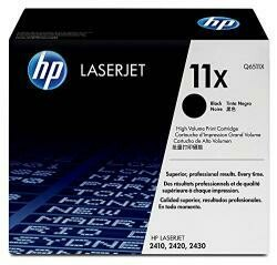 HP 11X (Q6511X) Black High Yield Toner Cartridge For HP Laserjet 2420 2430