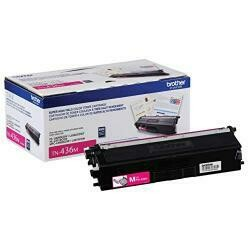 Brother Genuine Super High Yield Toner Cartridge, TN436M, Replacement Magenta Toner, Page Yield Up To 6,500 Pages, Amazon Dash Replenishment Cartridge, TN436