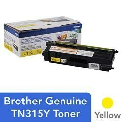 Brother TN-315Y DCP-9050 9055 9270 HL-4140 4150 4570 MFC-9460  9465 9560 9970  Toner Cartridge (Yellow) In Retail Packaging