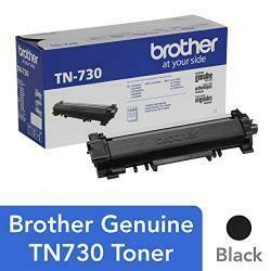 Brother TN-730 TN730 Genuine Black Toner DCP-L2550Dw, HL-L2350Dw HL-L2370Dw, HL-L2370Dw Xl, HL-L2390Dw HL-L2395Dw MFC-L2710Dw MFC-L2750Dw MFC-L2750Dw DCP-L2510 - 1,200 Pages