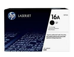 HP 16A (Q7516A) Black Toner Cartridge For HP Laserjet 5200