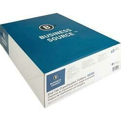 """Business Source 3/4"""" Expanding Medical File Folders"""