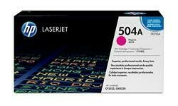 HP 504A (CE253A) Magenta Toner Cartridge For HP Color Laserjet Cp3525 Cm3530