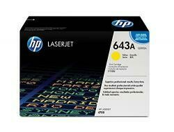 HP 643A (Q5952A) Yellow Toner Cartridge For HP Laserjet 4700