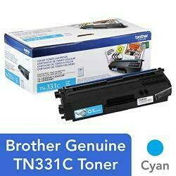 Brother TN-331C DCP-L8400 L8450 HL-L8250 L8350 MFC-L8600 L8650 L8850 Toner Cartridge (Cyan) In Retail Packaging.