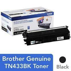 Brother Printer TN433BK High Yield Toner-Retail Packaging , Black