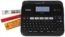 Brother Labelmaker - Monochrome - Thermal Transfer - Roll (0.7 In) - 180 Dpi - Up To 47.2 Inch/Min - Usb - 5 Line Printing - Black, Dark Gray