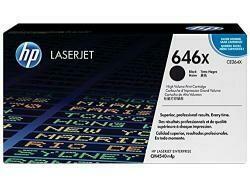 HP 646X | CE264X | Toner Cartridge | Black | High Yield