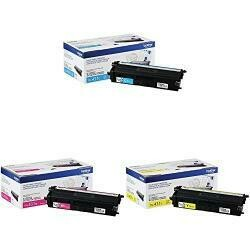 Brother Genuine Standard-Yield Toner Cartridge Three Pack TN431 3Pk -Includes One Cartridge Each Of Cyan, Magenta &Yellow Toner