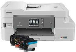 Brother MFC-J995Dw Inkvestment Tank Color Inkjet All-In-One Printer With Mobile Device And Duplex Printing, Up To 1-Year Of Ink In-Box