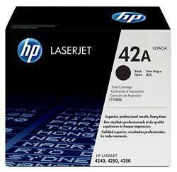 HP 42A (Q5942A) Black Toner Cartridge For HP Laserjet 4240 4250 4350