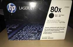 HP 80X (CF280X) Black High Yield Original Toner Cartridge For HP Laserjet Pro M401 M425