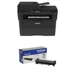 Brother Compact Monochrome Laser Multi-Function Copier And Printer, DCPl2550Dw With Super High Yield Black Toner