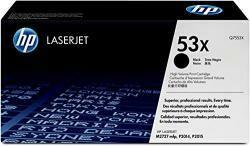 HP 53X | Q7553X | Toner Cartridge | Black | High Yield