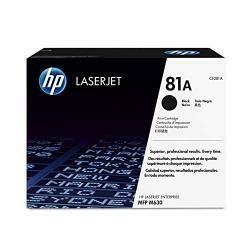 HP 81A (CF281A) Black Toner Cartridge For HP Laserjet Enterprise M630 M604 M605 M606