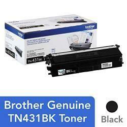 Brother Printer TN431BK Standard Yield Toner-Retail Packaging , Black