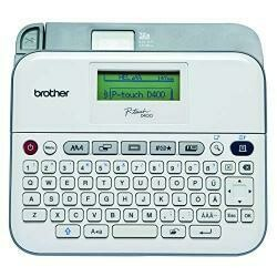 Brother PT-D400Ad Versatile, Easy-To-Use Label Maker With Ac Adapter - Label, Tape - 0.14, 0.24,