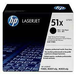 HP 51X | Q7551X | Toner Cartridge | Black | High Yield