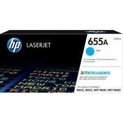 HP 655A (CF451A) Cyan Toner Cartridge For HP Color Laserjet Enterprise M652 M653 M681 M682