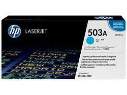 HP 503A (Q7581A) Cyan Toner Cartridge For HP Color Laserjet 3800 Cp3505