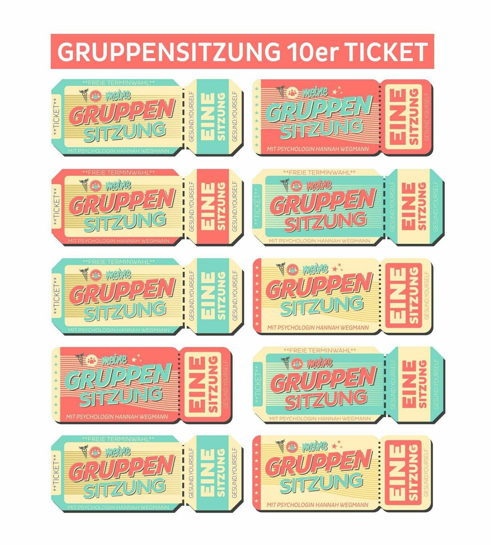 Gruppensitzung 10er Ticket