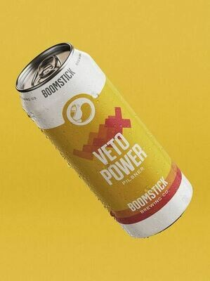 Boomstick - Veto Power Pilsner