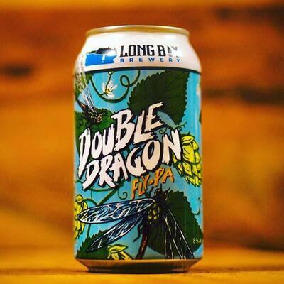 Long Bay Brewing - Double Dragon - Double NEIPA