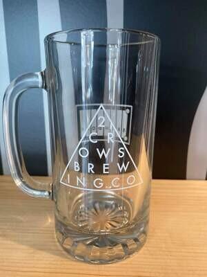 Glass - 2 Crows x Brewdock