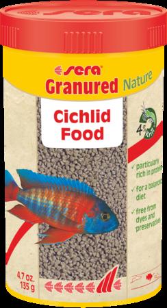 Granured Cichlid Food