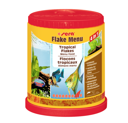 Flake Menu Tropical flakes