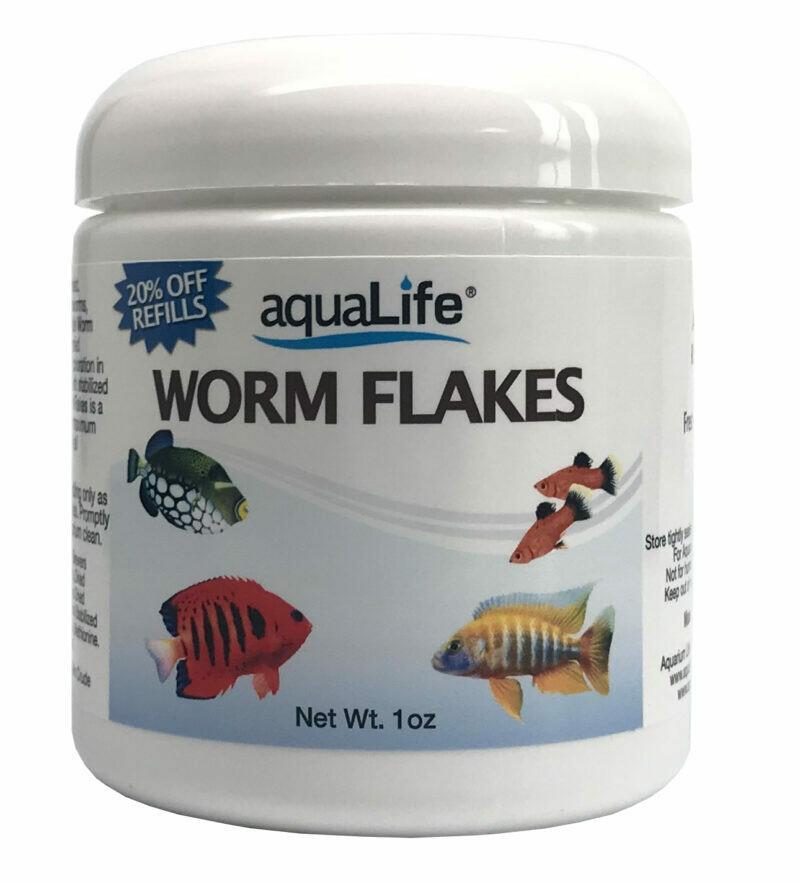 AquaLife worm Flakes
