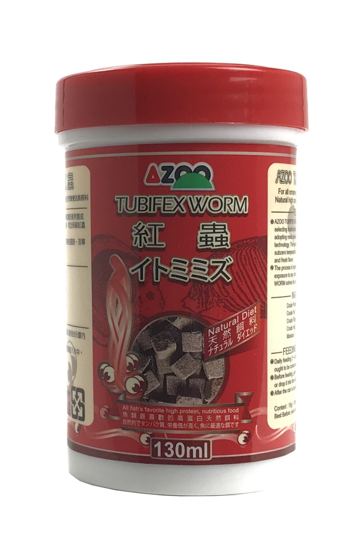 Azoo Tubifex Worms 130 ml