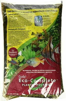 CaribSea Eco-Planted Substrate Black 20 lb.