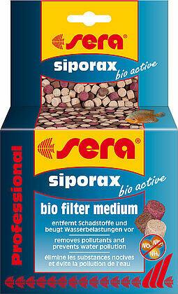 Sera siporax bio active filter medium