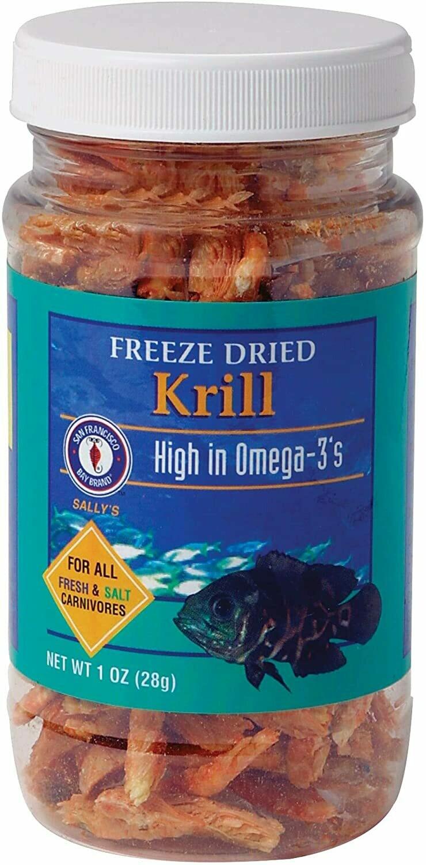 Freeze Dried Krill 1 oz.