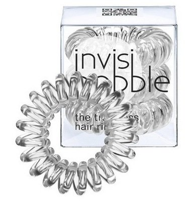 INVISIBOBBLE CRYSTAL CLEAR Резинка-браслет для волос прозрачная