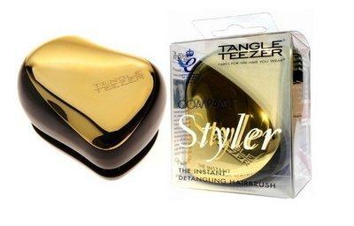 TANGLE TEEZER COMPACT STYLER GOLD RUSH Чудо-расческа для волос (золотая)