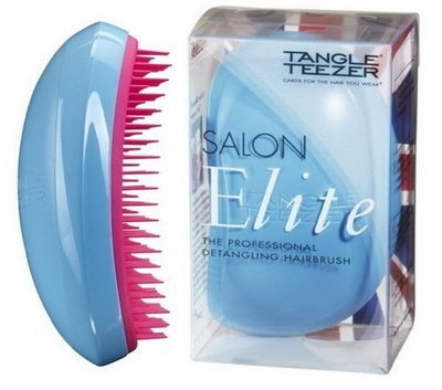 TANGLE TEEZER SALON ELITE BLUE BLUSH Чудо-расческа для волос (голубая)