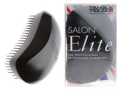 TANGLE TEEZER SALON ELITE MIDNIGHT BLACK Чудо-расческа для волос (черно-серая)