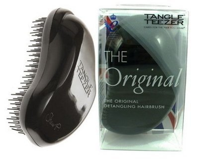 TANGLE TEEZER THE ORIGINAL PANTHER BLACK Чудо-расческа для волос (черная)