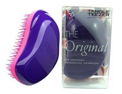 TANGLE TEEZER THE ORIGINAL PLUM DELICIOUS Чудо-расческа для волос (фиолетово-розовая)