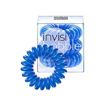 INVISIBOBBLE NAVY BLUE Резинка-браслет для волос 3 шт. (синий)