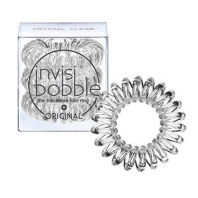 INVISIBOBBLE ORIGINAL CRYSTAL CLEAR Резинка-браслет для волос 3 шт. (прозрачный)