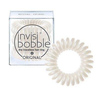 INVISIBOBBLE ORIGINAL ROYAL PEARL Резинка-браслет для волос 3 шт. (жемчужный)