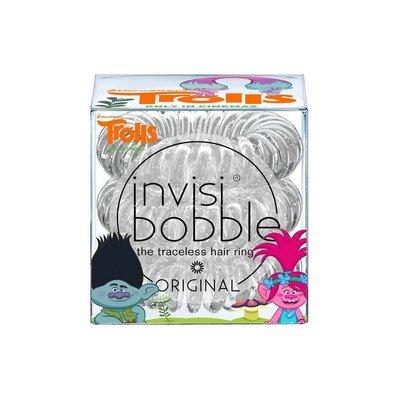INVISIBOBBLE ORIGINAL TROLLS Резинка-браслет для волос 3 шт. (прозрачный)