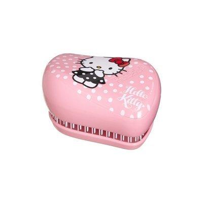 TANGLE TEEZER COMPACT STYLER HELLO KITTY PINK Чудо-расческа для волос (розовая)